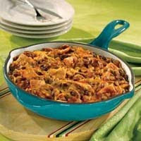 Picante Beef and Bean Skillet