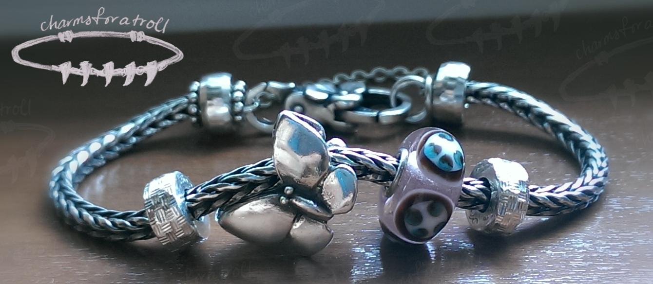 Trollbeads Fantasy Butterfly Bracelet