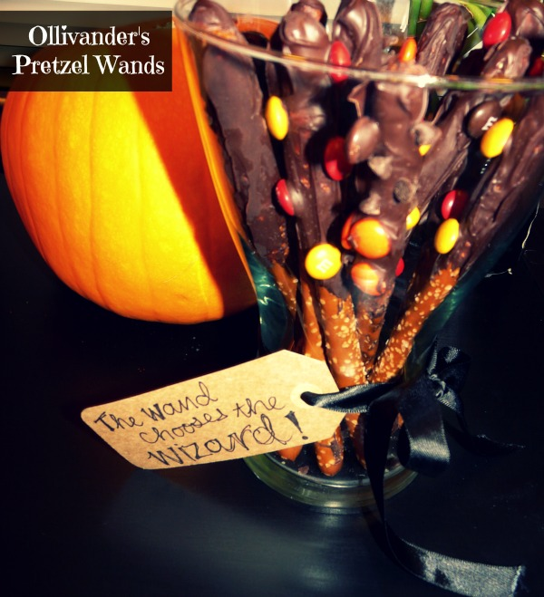 LPF Entertains: Harry Potter Party- Ollivander's Pretzel Wands