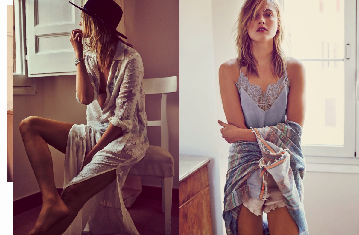Free People Spring 2015 Bohemian Fashions images