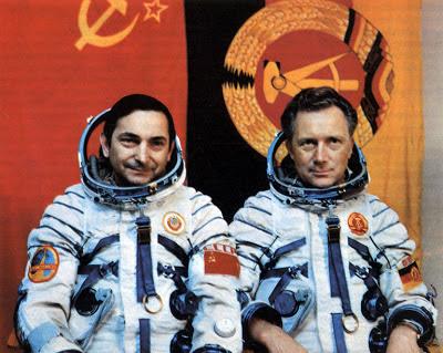 cosmonautas urss rda