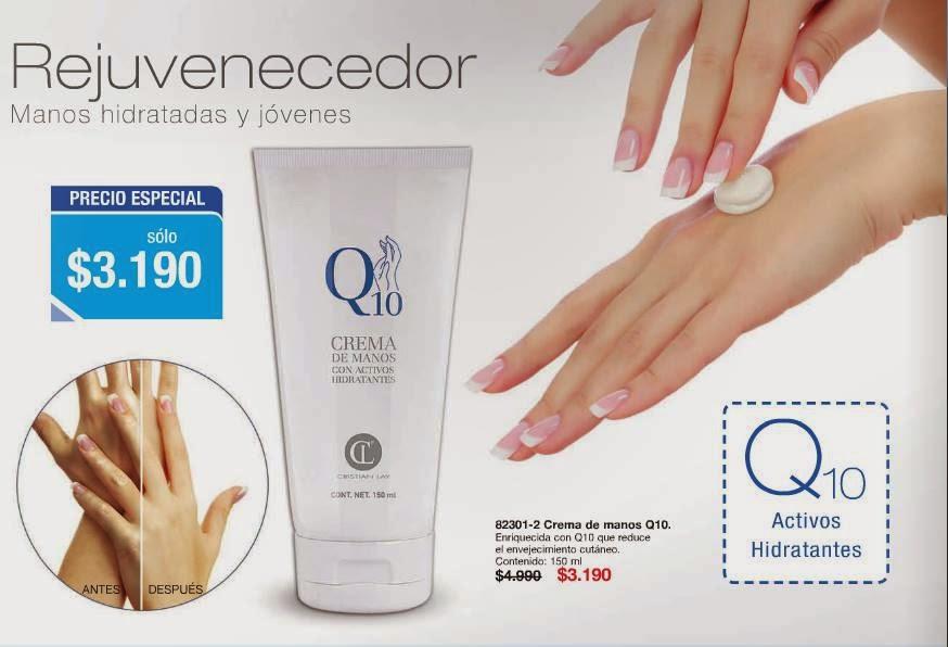Crema de manos Q10, C-7 2015