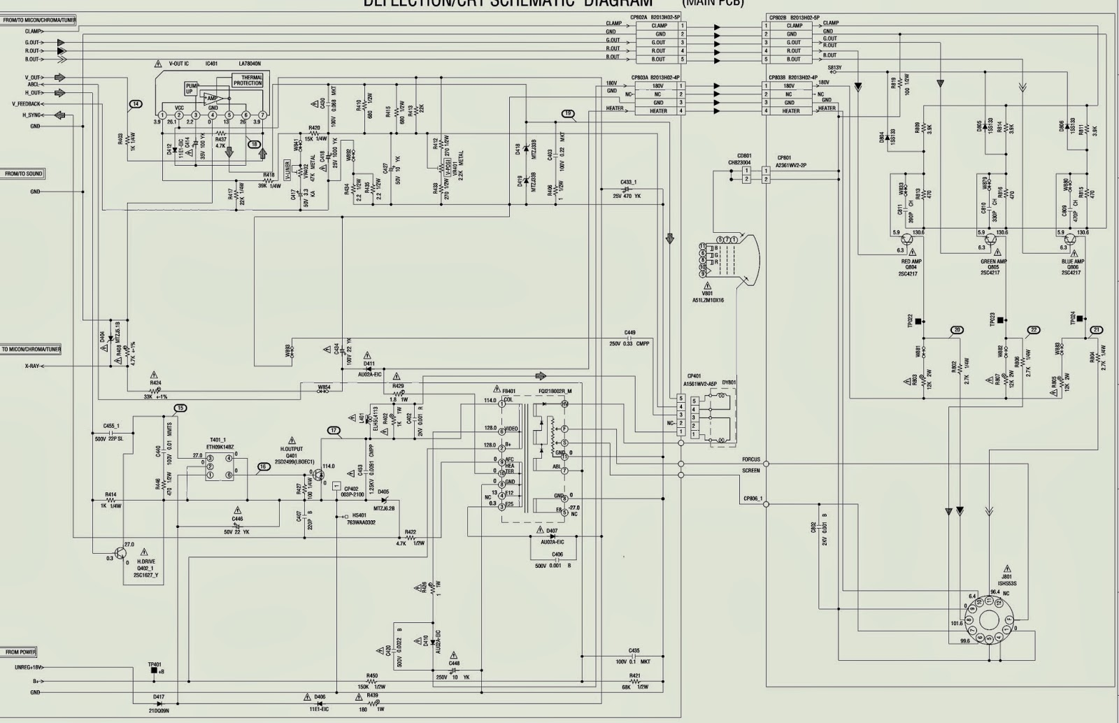 Electro Help  Audio Output Schematic Diagram