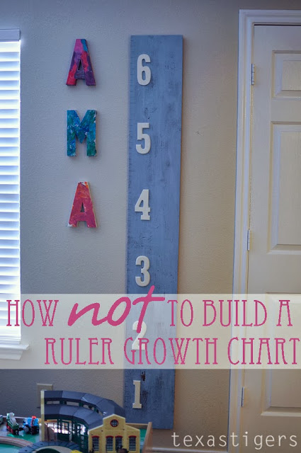 How to not build a growth chart