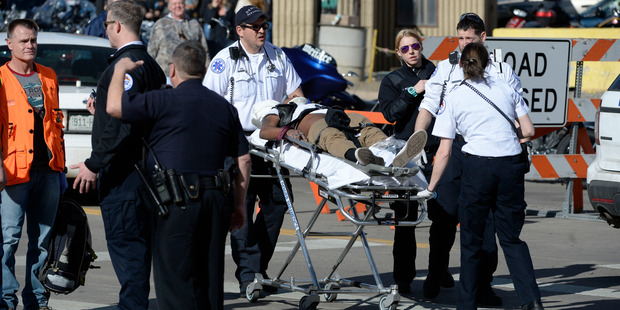One dead, others injured after brawl motorcycle expo in the US state of Colorado