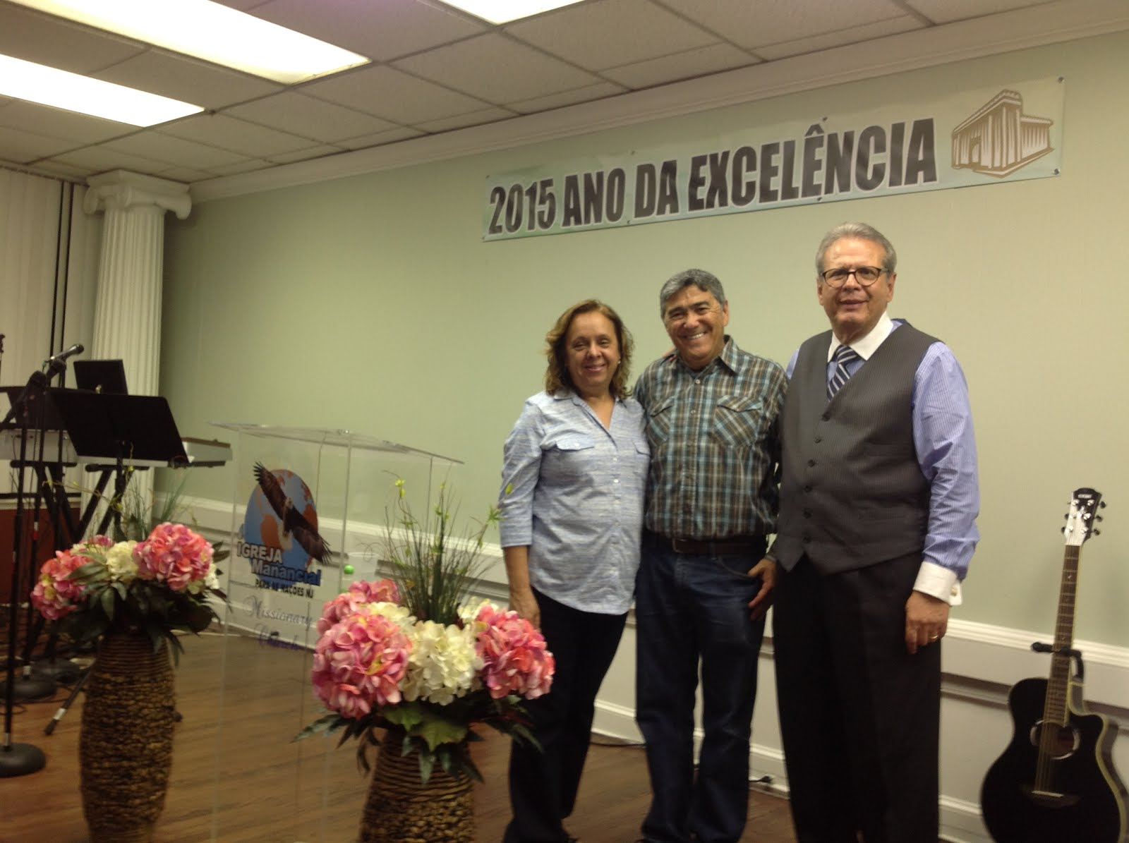 Pastores Sergio e Pastora Solange