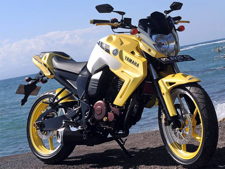 Modification Yamaha Byson Street Fighter