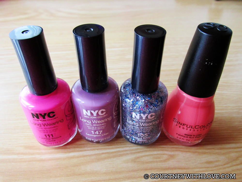 Courtney, With Love: Sinful Colors & NYC Nail Polish Haul & Swatches