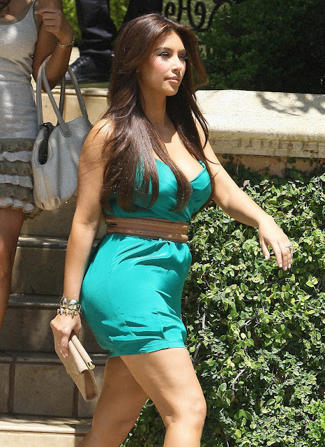 Kim Kardashian in Los Angeles