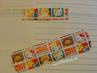 colorful Hello Kitty bandaids