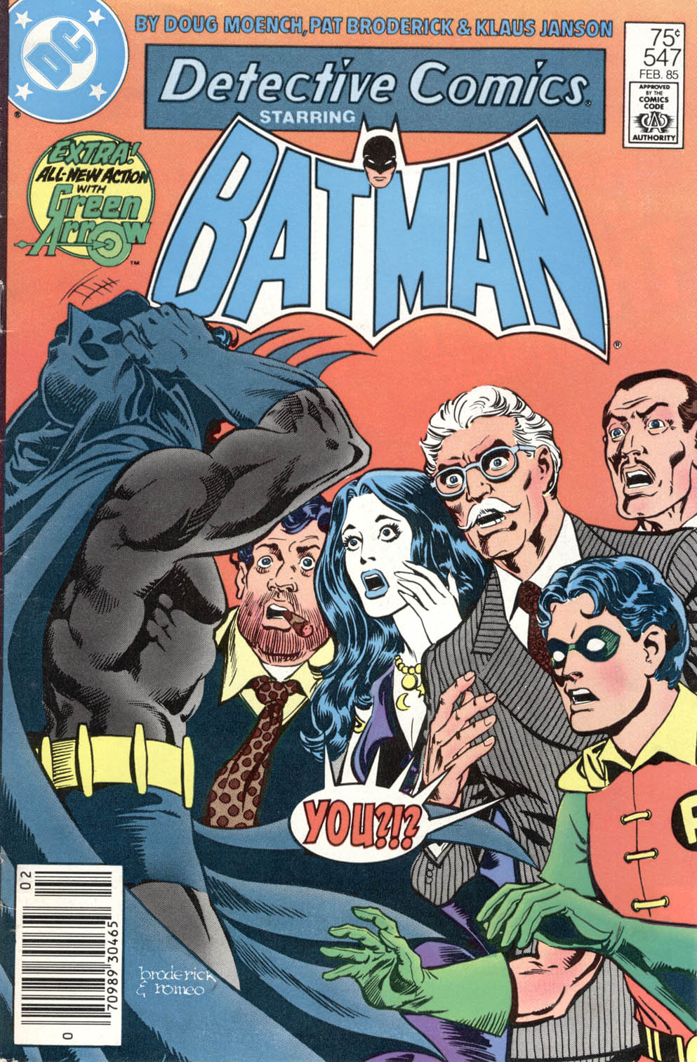 Detective Comics (1937) 547 Page 1