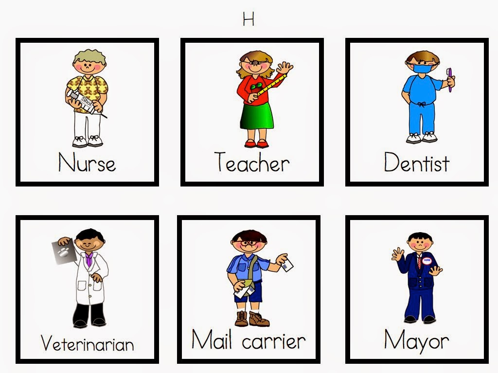 Community Helpers Kindergarten Worksheets – Community Workers Worksheets