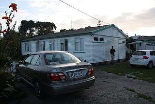 Alojamiento en costa N. de NZ.