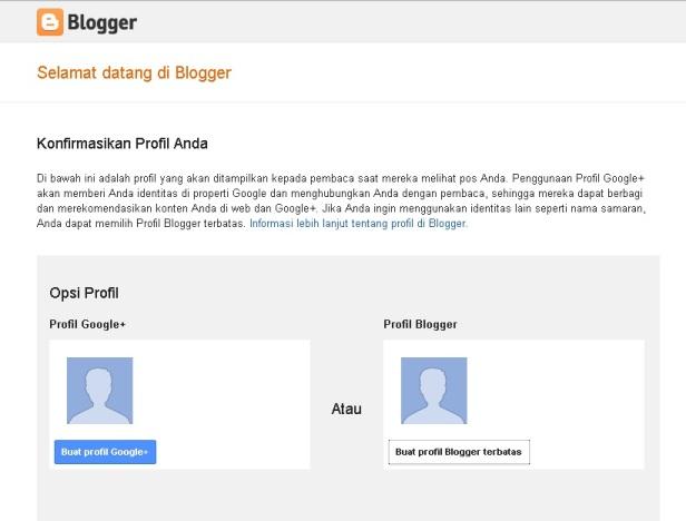 Cara Membuat Blog di Blogger/Blogspot - Achep   PNS go Blog