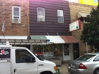 Green Aisle Grocery (new) vs. Avenue Cheese Shop (old) for the holidays