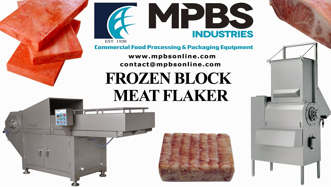 Frozen Block Meat Flaker