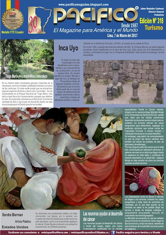 Revista Pacífico Nº 318 Turismo