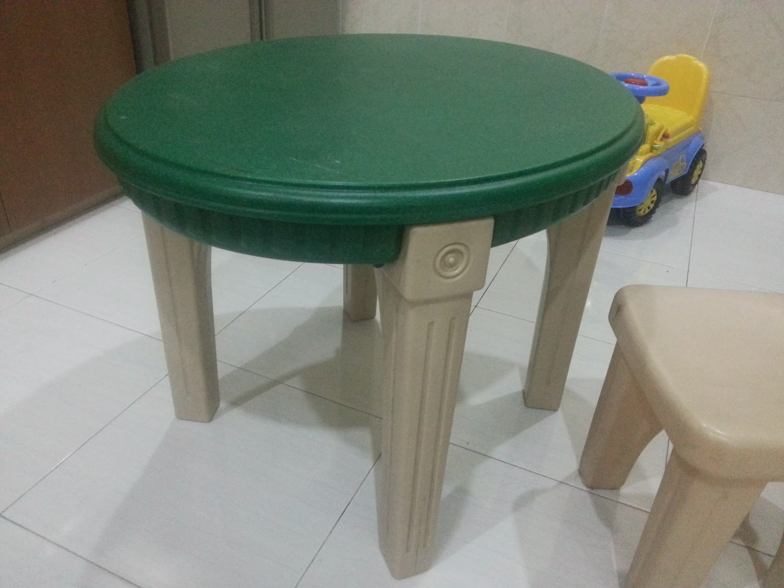 STEP2 Lifestyle Table with Chair (SOLD)