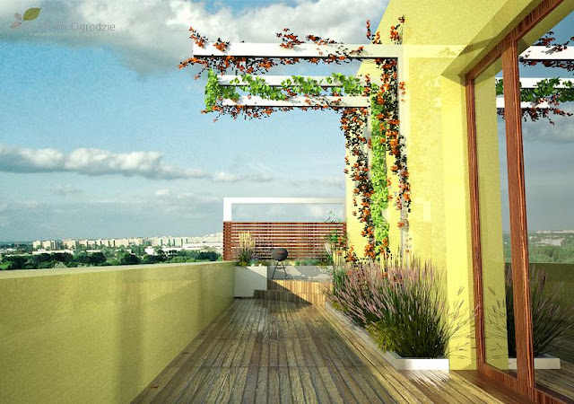 nowoczesne tarasy na dachach warszawa