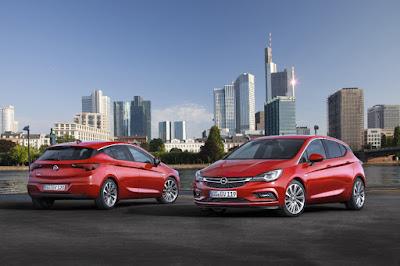 το νέο / ολοκαίνουριο Opel Astra