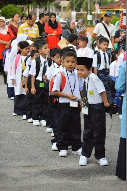 Orientasi Tahun 1 Azwar di SK Taman Seri Rampai