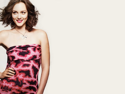 Leighton Meester Hot Wallpaper