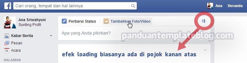 CSS: Membuat Loading Facebook di Blog