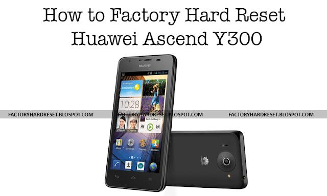 Factory Hard Reset