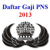 Daftar Gaji PNS 2013
