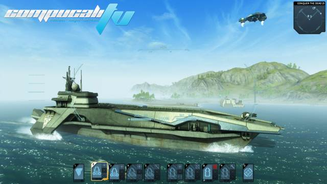 Carrier Command Gaea Mission PC Full Imagenes HD