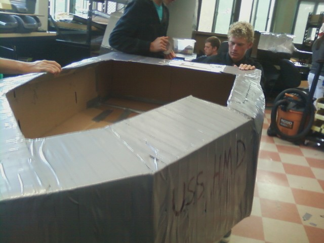 Problem Solving For Engineers The 2nd Annual Cardboard Canoe