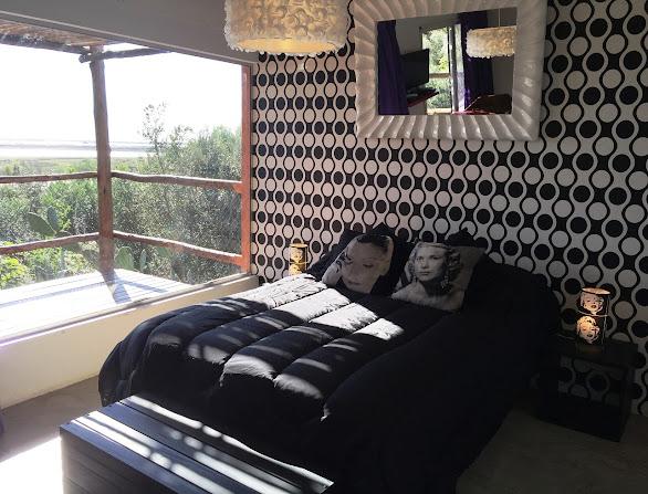 Jacaranda, dormitorio