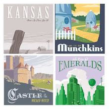 Wizard of Oz - inspired prints. ON SALE NOW!