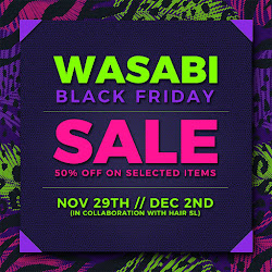 Wasabi x Black Friday SALE!