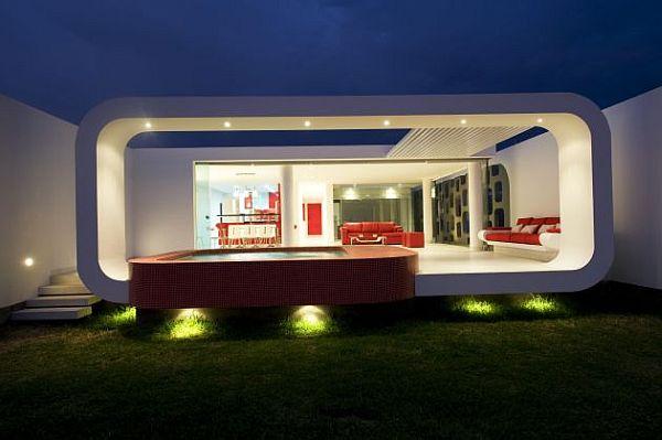 decoracao de interiores blumenau:Decora%C3%A7%C3%A3o-de-casa-de-praia-vermelha-e-branca.jpg