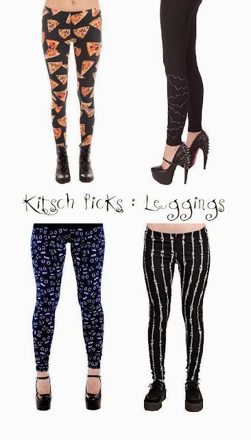 Kitsch picks kitschy leggings