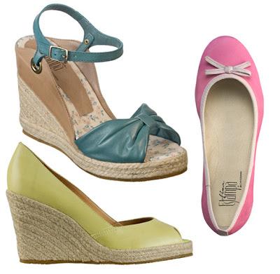calçados da coleção Fina Estampa