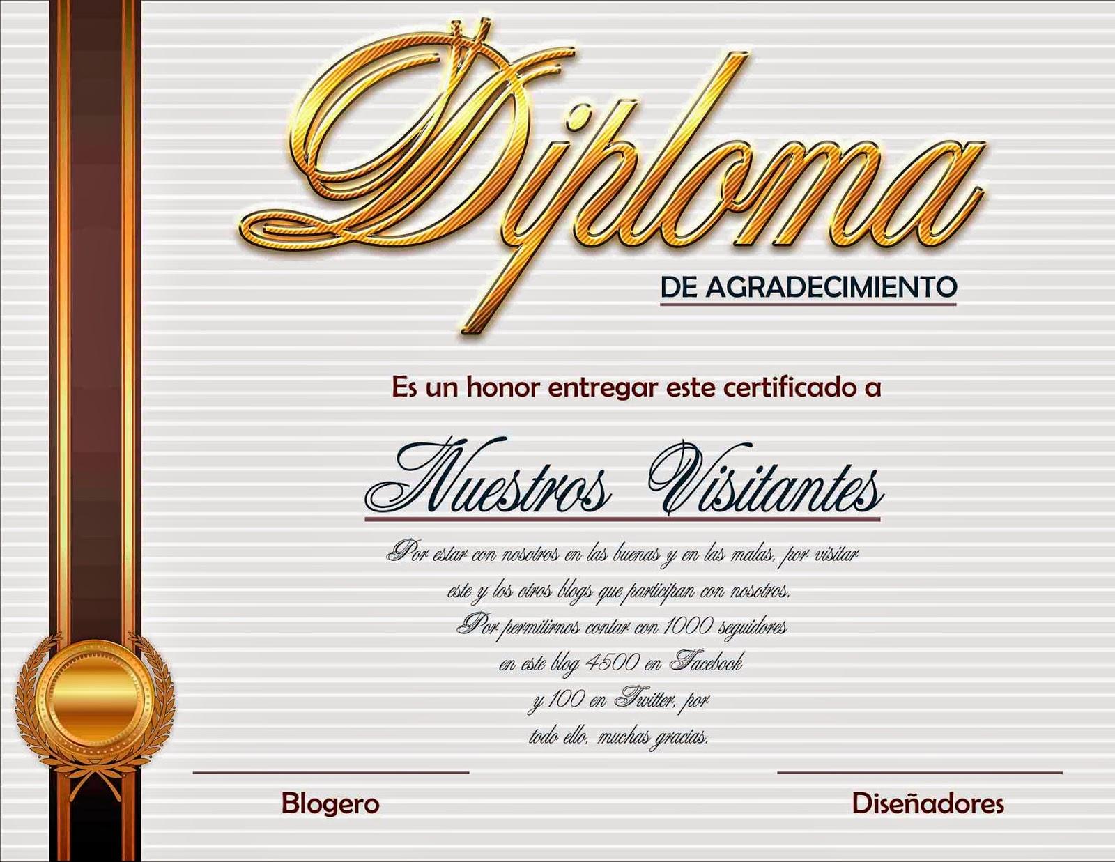 Diplomas De Reconocimiento En Psd El Blog Del | apexwallpapers.com