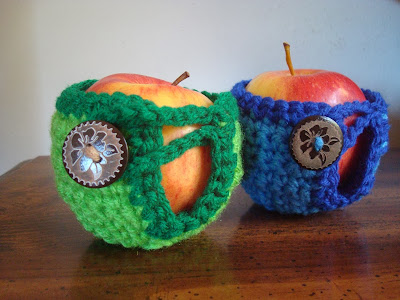 Crochet Apple Cozzies
