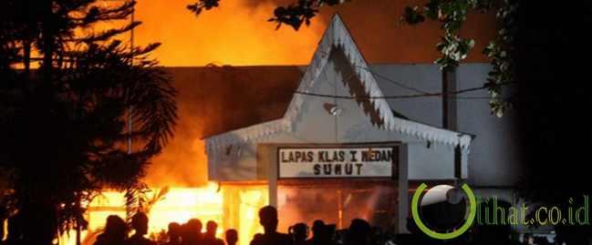 Ribut di LP Tanjung Gusta, 3 napi tewas