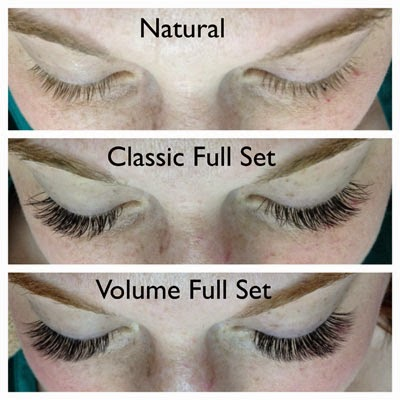 82ccac65d15 Volume lashes are applied by bonding one pre-prepared set of 2-5 eyelash  extensions ...