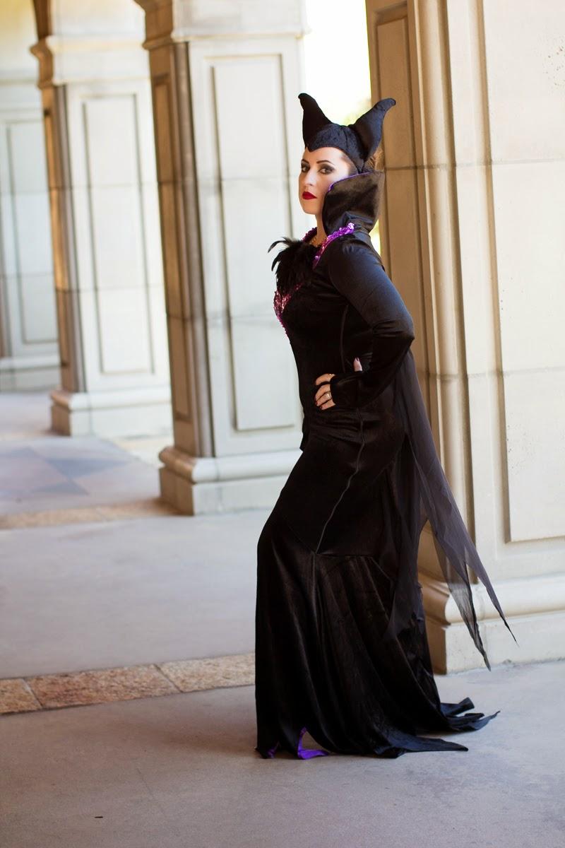 disneys maleficent halloween costume, blogger