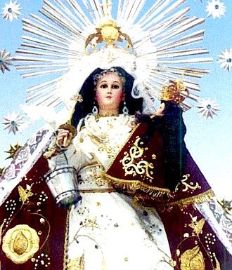 La Virgen de la Candelaria es la patrona de la ciudad de Puno (Perú)