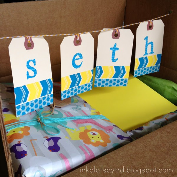 baby shower in a box pop up banner the twinery