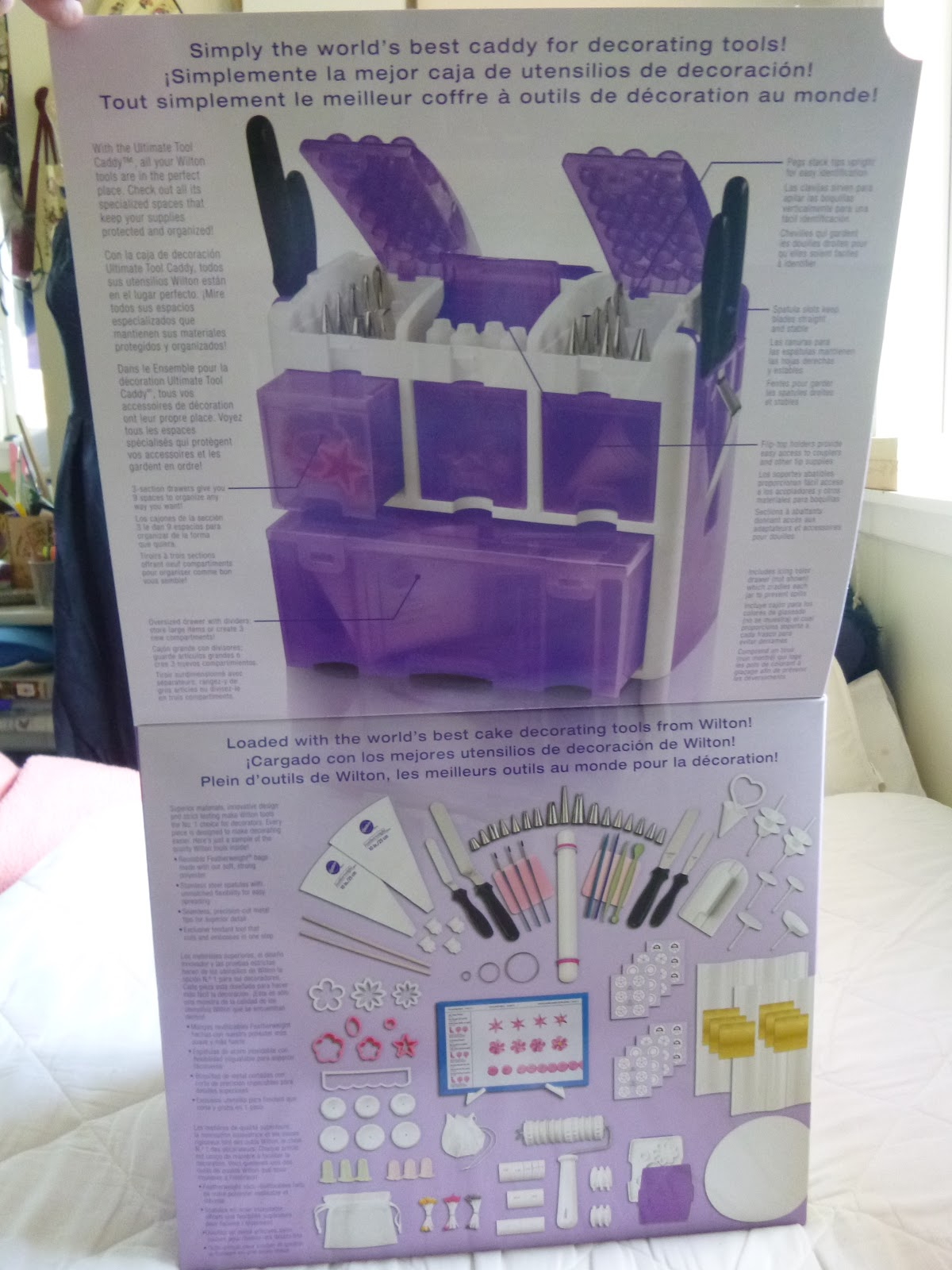 Wilton Ultimate Professional Cake Decorating Set, Purple review. bits and bobs about cake ...