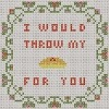 orange is the new black cross stitch chart