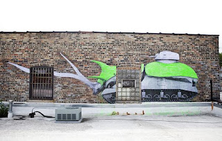 street artist LUDO paintings