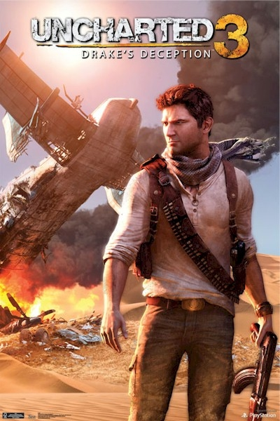 Uncharted 3 Poster