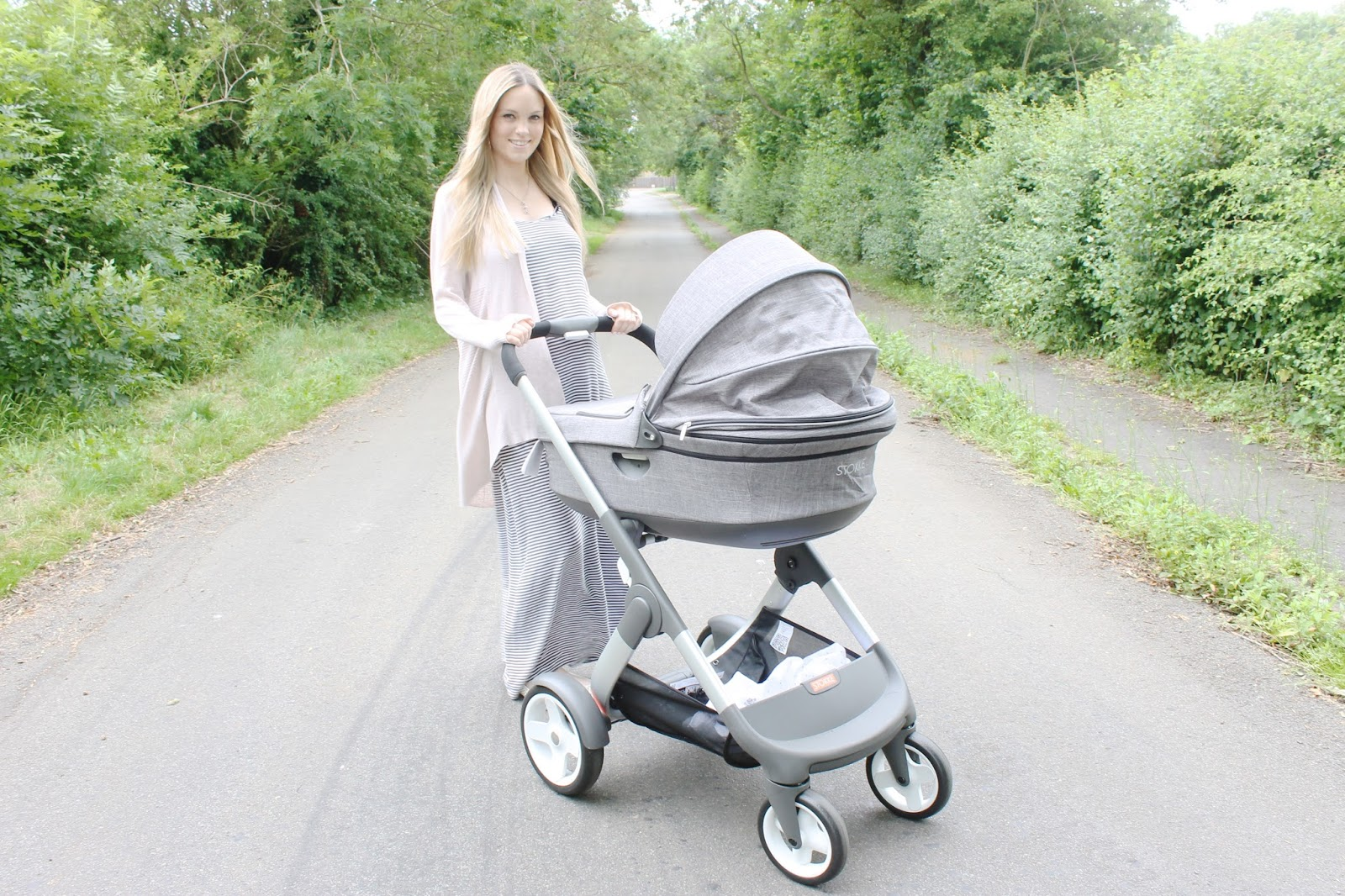 Stokke Crusi Review, Black-Melange Stokke Crusi,