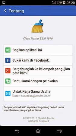 Clean Master v5.9.6 Apk